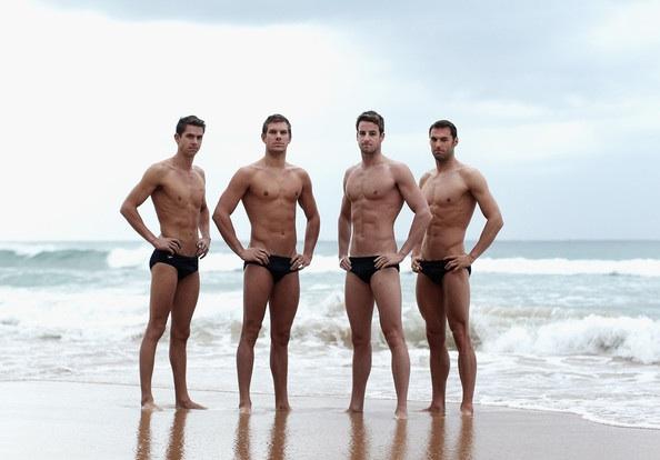 Hottie Of The Day : Australian Men's Olympic swim team