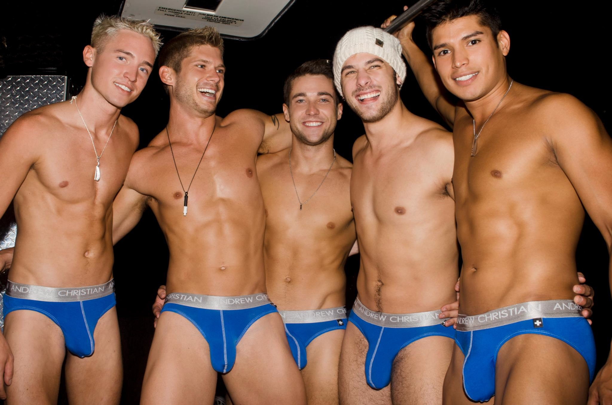 Hotties of The Day : Andrew Christian Models