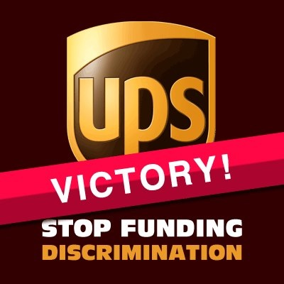News : UPS Stands Up For Gay Rights!