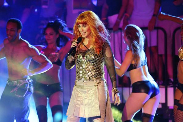 Music : Cher And Deborah Cox At NYC Pride
