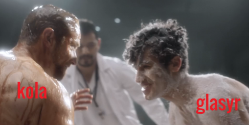 Watch This : Naked Wrestlers For HIV Testing