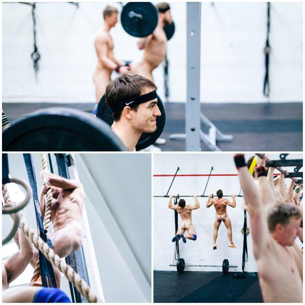 Sports : Nude Crossfit Classes