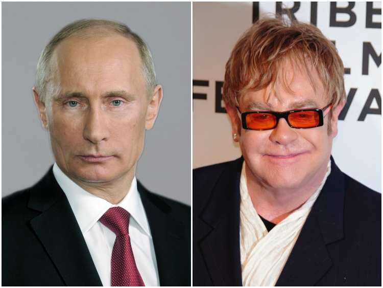 News : Vladimir Putin Called Elton John To Discuss LGBT Rights