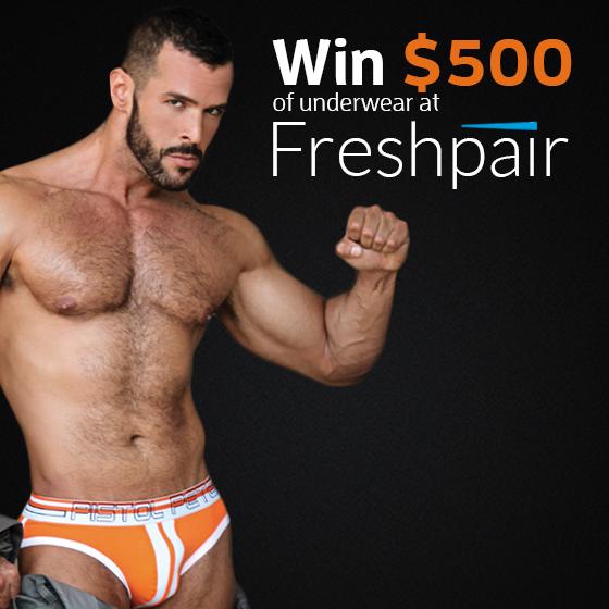 Contest : Win 500$ Of Underwear On Facebook
