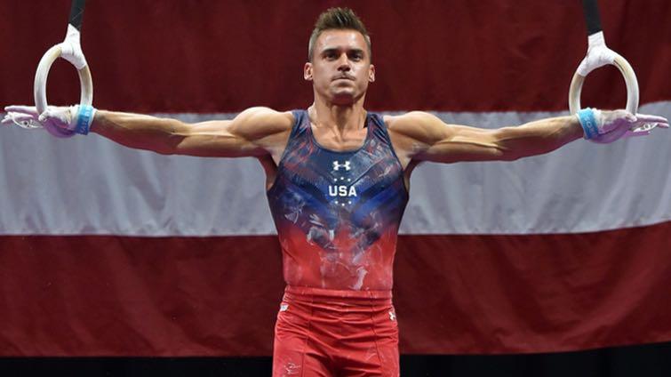 Sports: Men's Gymnastics. Hot as Hell!