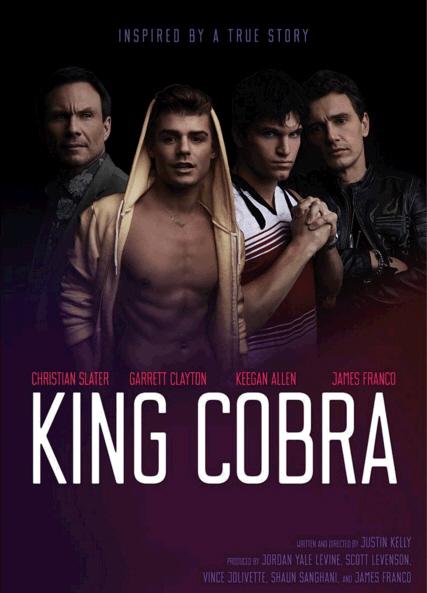 """Movie : James Franco in Porn Drama """"King Cobra"""""""