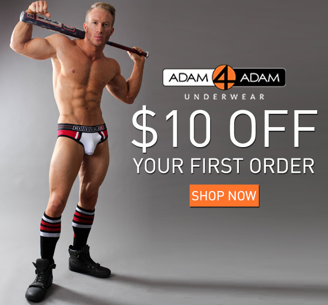 Style : Adam4Adam Underwear Store is Now Open and This is Your Gift!