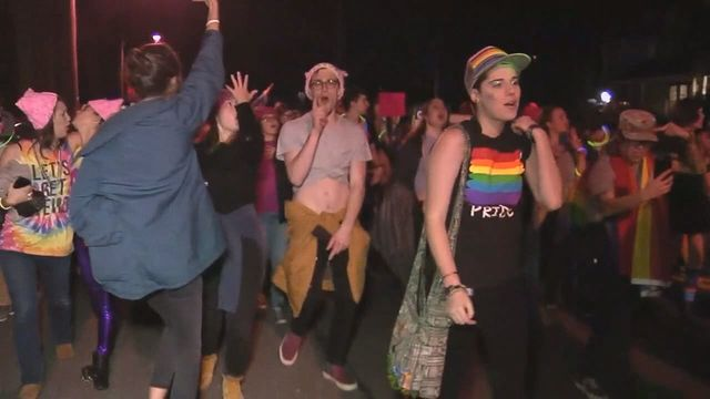 Equality: Queer Dance Party at Mike Pence's Street