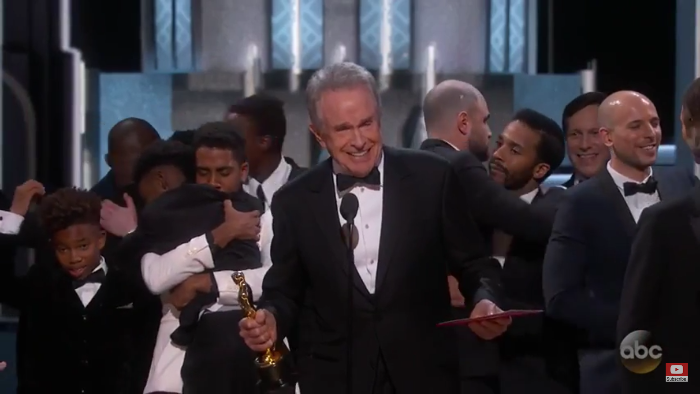 Entertainment : Moonlight, 1st LGBT Film to Win Best Picture at the Oscars