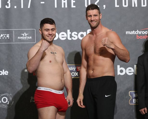 Watch This : Boxer's Huge Package Caused a Ruckus During Weigh-In