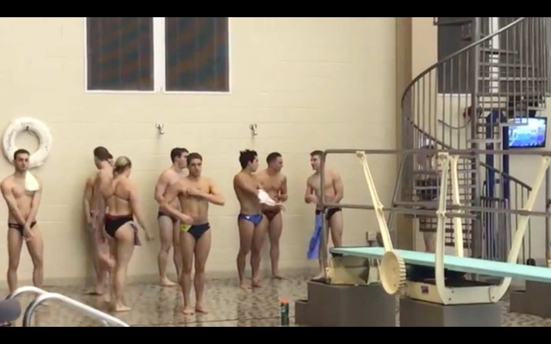 Sports: Out Divers Make History at NCAA