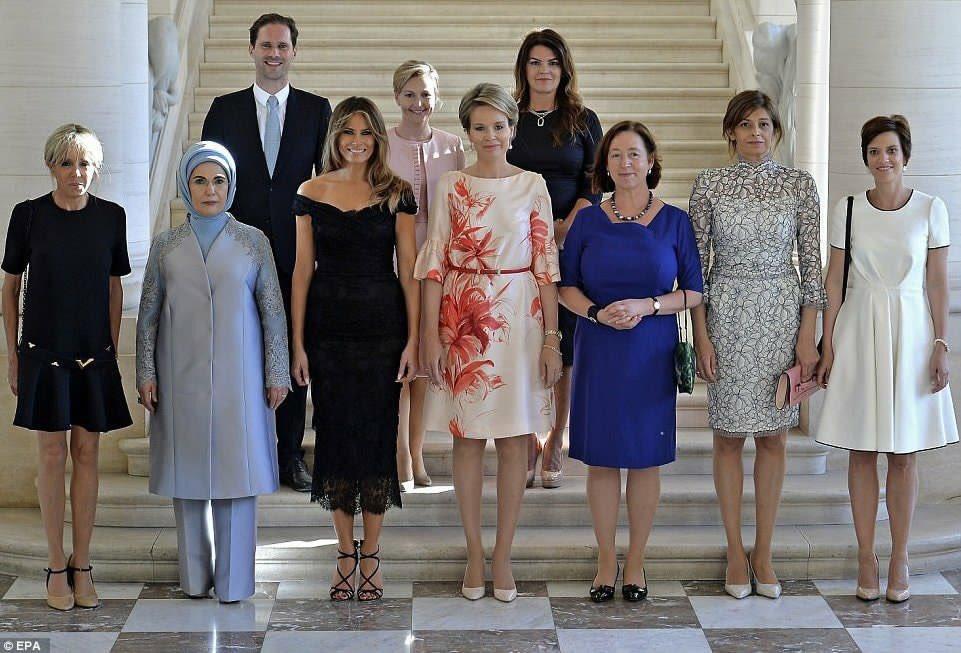 News: White House Photo Caption Removes Gay PM's Husband