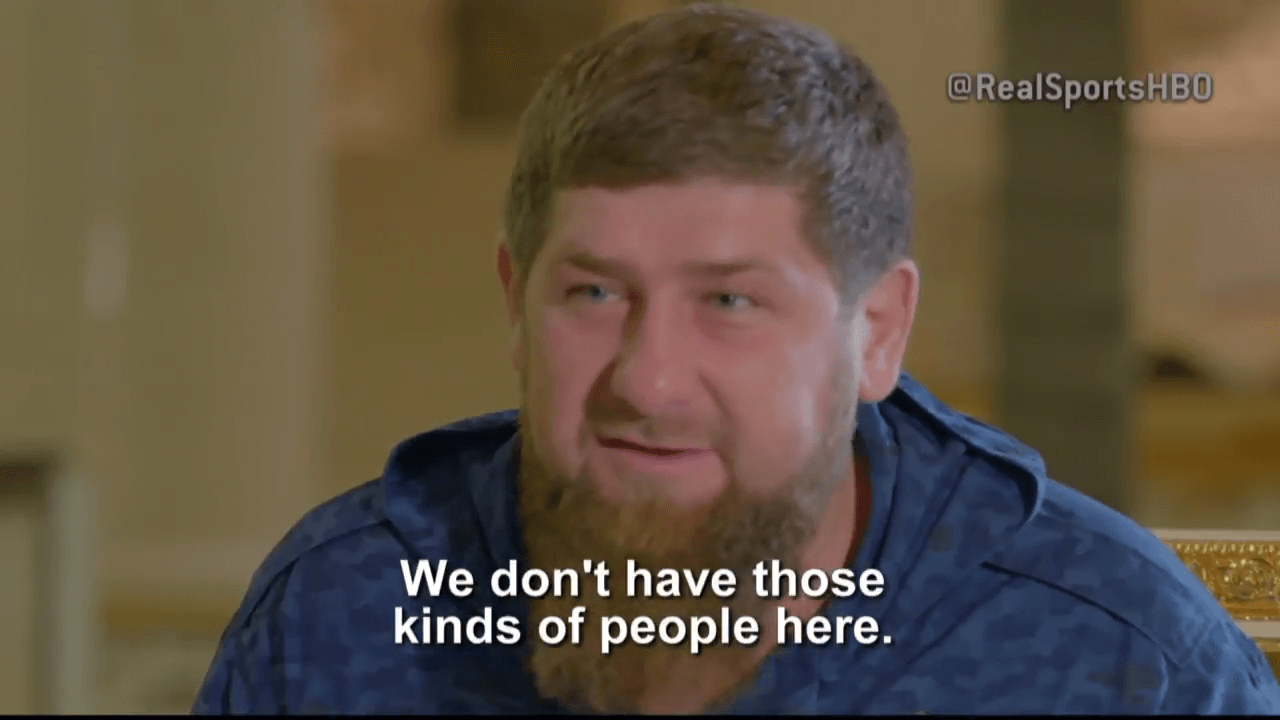 News: Chechen President on Gay Men—Take them to Canada