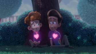 """Movie : """"In a Heartbeat"""" and First Crush Stories"""