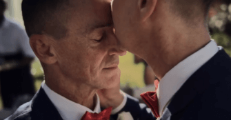 iPhone X Ad Highlights Australian Same-Sex Marriages