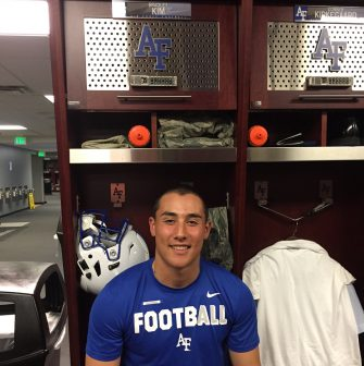 Sports: Air Force Academy Football Player Comes Out