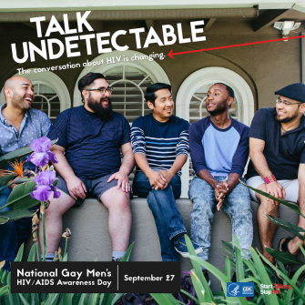 Health: September 27 is National Gay Men's HIV/AIDS Awareness Day