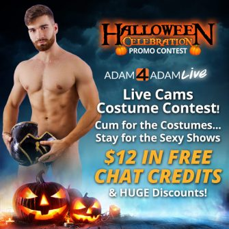Promotion: It's All Treats At The Adam4Adam Live Halloween Celebration!