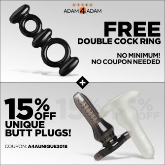 Sex Toys: Free Double Cock Ring For All!