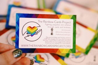 "How ""The Rainbow Cards Project"" Spreads Love this Christmas"