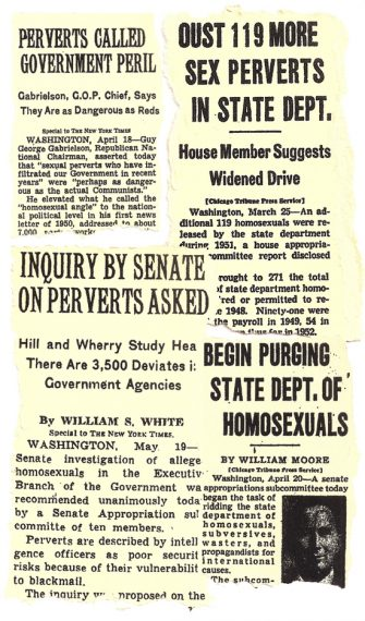 Gay Rights: The Cold War, the Lavender Scare, and Robert Cutler's Story