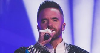 "Music: Brian Justin Crum Brings Down the House on ""AGT Champions"""