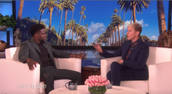 "Watch This: Kevin Hart Speaks on ""The Ellen Show"""