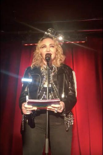 Watch This: Madonna Makes A Speech At Stonewall Inn